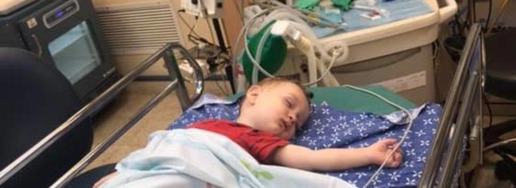 Півторарічний дрогобичанин Матвій просить допомоги: у нього діагностували мієлоїдну лейкемію