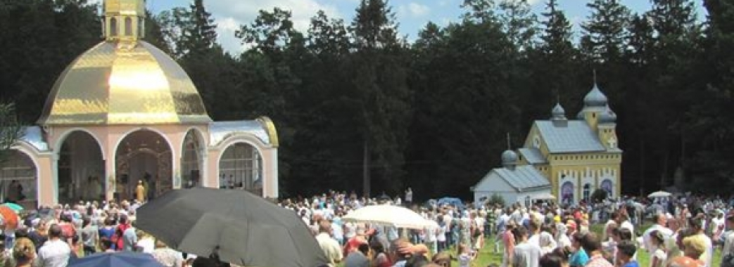 22-23 червня відбудеться багатотисячна проща до Цілющого джерела у селі Биличі