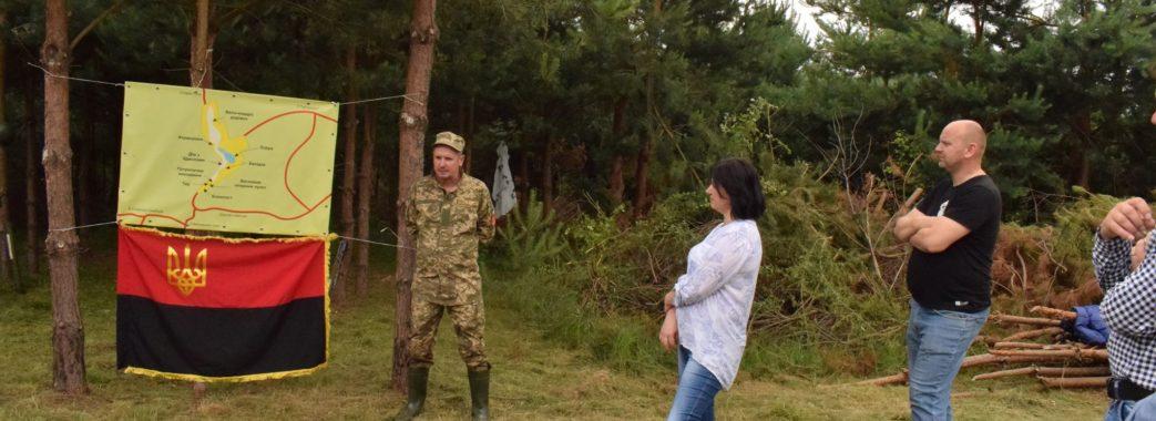 «З побратимами кілька місяців розчищали територію»: атовці на Старосамбірщині презентували унікальний проект
