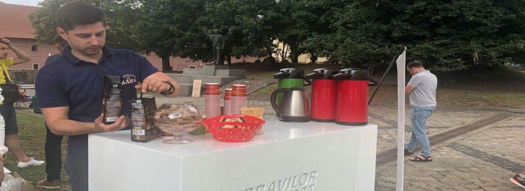 Напої для львів'ян готували за допомогою сонячної електростанції