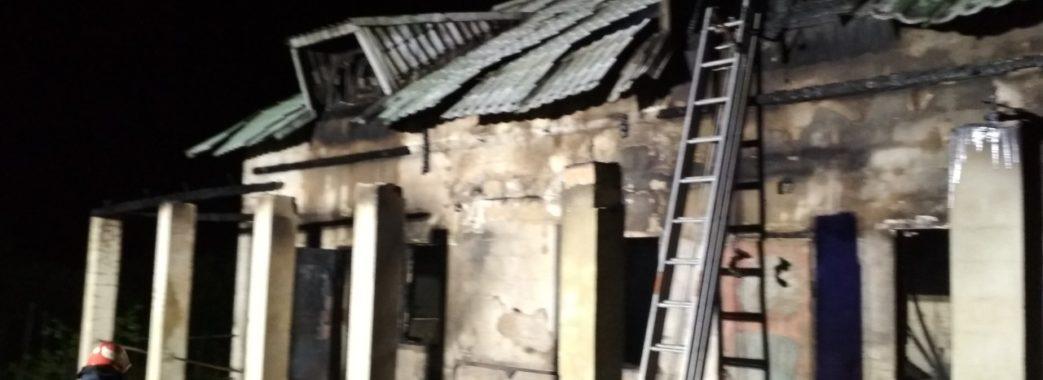 «З вогню вибіг господар – голий, у шоковому стані»: на Стрийщині згорів двоповерховий будинок