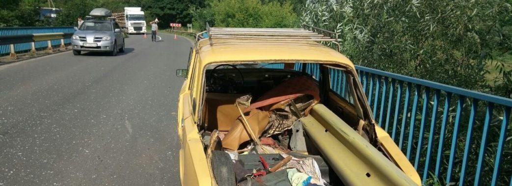 У Дрогобичі літнє подружжя потрапило у ДТП: жінка загинула