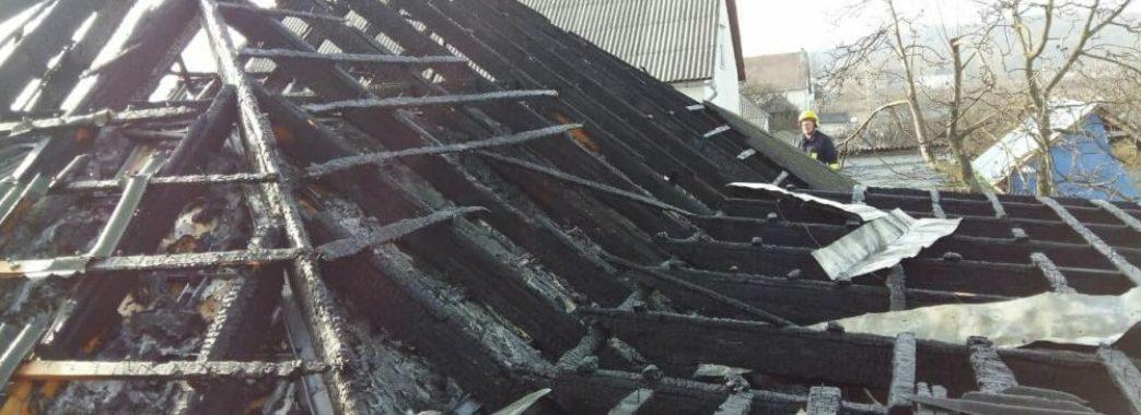 На Старосамбірщині вогнеборці не змогли врятувати будинок