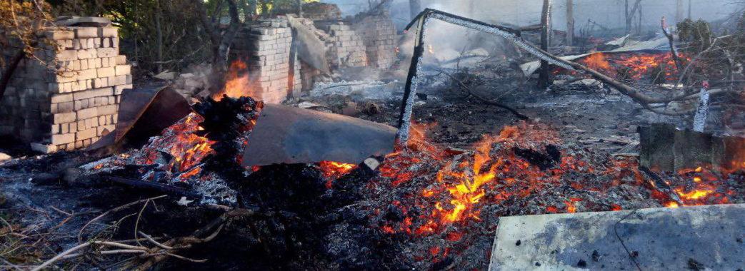 На Дрогобиччині чоловік випадково спалив хату рідного брата, коли порався на подвір'ї