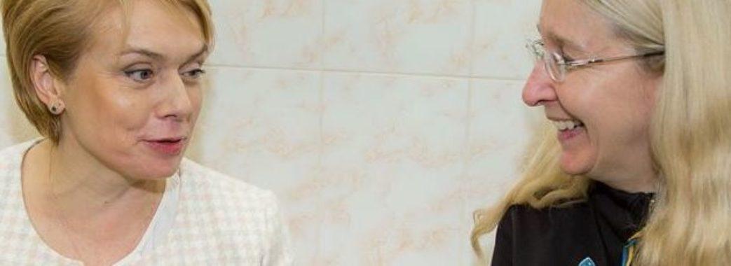 Супрун та Гриневич не матимуть посад в новому уряді