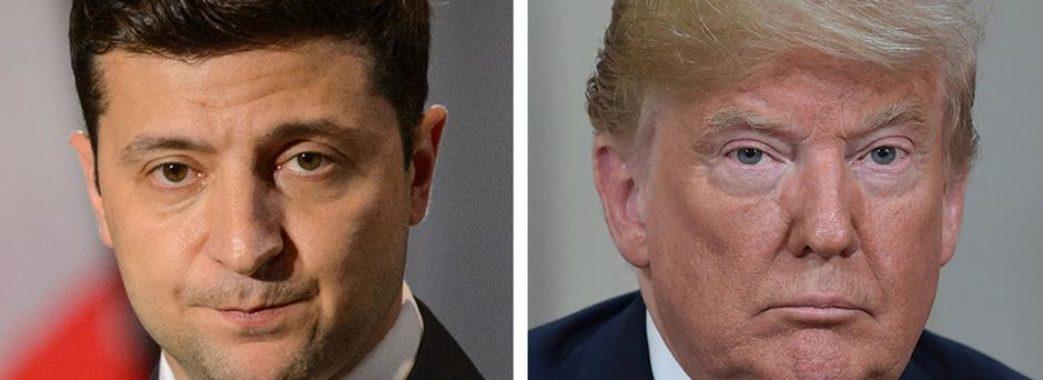 Трамп привітав Зеленського і натякнув на справи, що «стримували взаємодію з США»