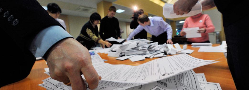«Слуга народу» заявляє про фальсифікації у 119-му та 126-му округах