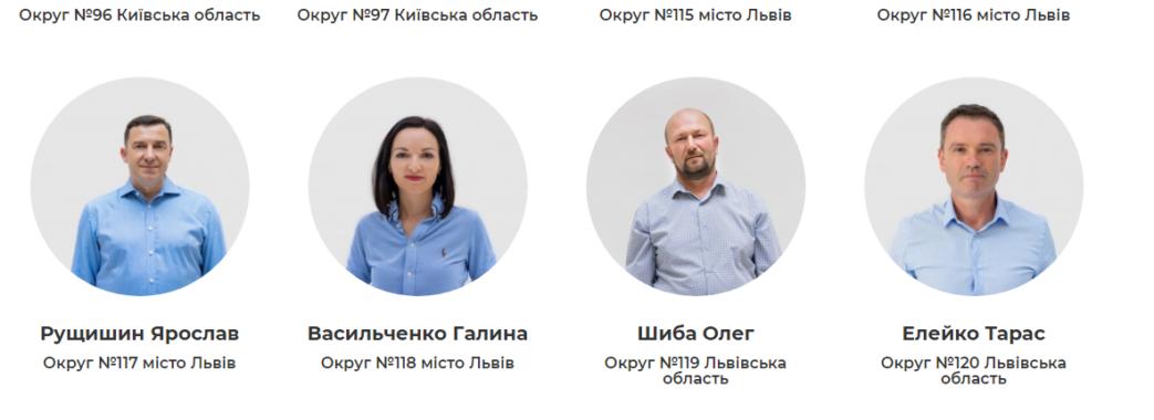 «Голос» розповів деталі про своїх мажоритарників, яких найбільше у Львівській області