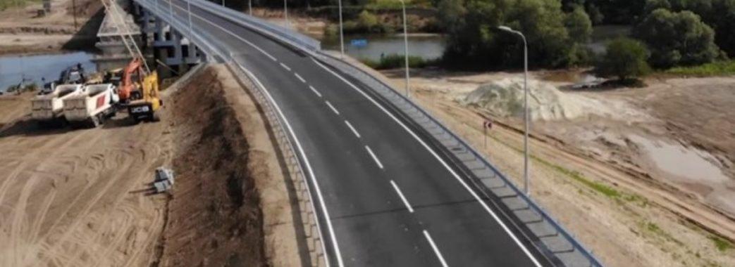 На Жидачівщині відкрили міст через Дністер