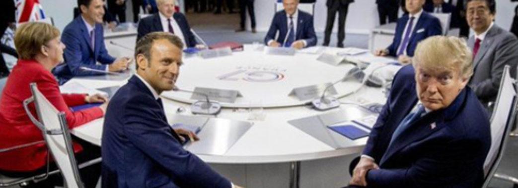 «Занадто рано повертати росіян за стіл»: лідери G7