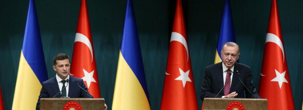 Президент Туреччини заявив, що настав час для зони вільної торгівлі з Україною