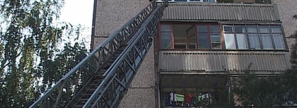 У Львові чоловік обкрадав квартири за допомогою драбини