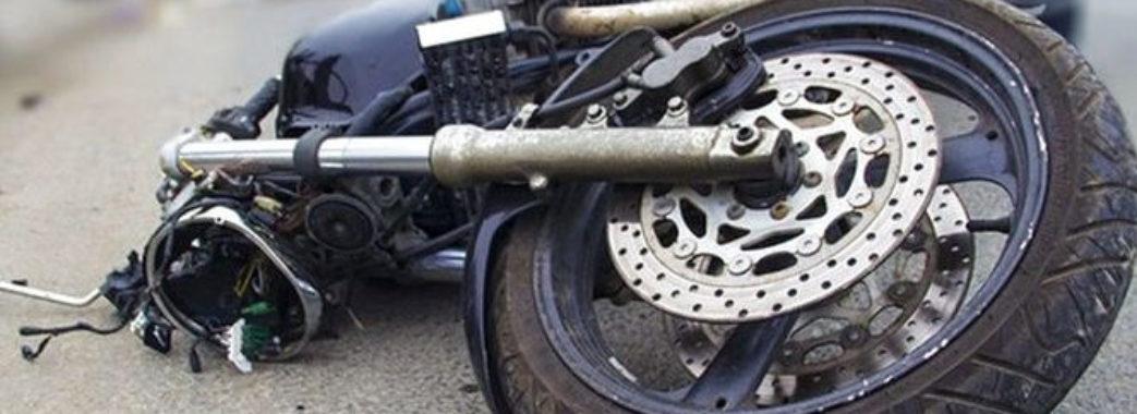На Пустомитівщині перекинувся мотоцикл: водій в реанімації, пасажир травмований