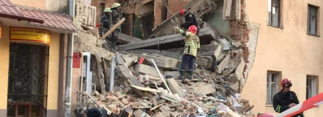 Відомо про стан потерпілих через обвал будинку у Дрогобичі