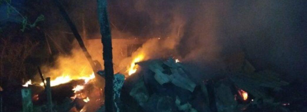 На Радехівщині живцем згоріла худоба