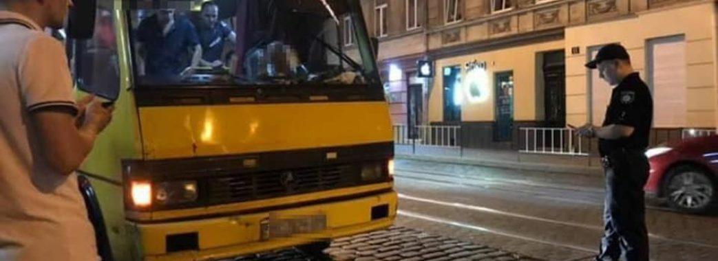 У Львові п'яний водій маршрутки віз пасажирів