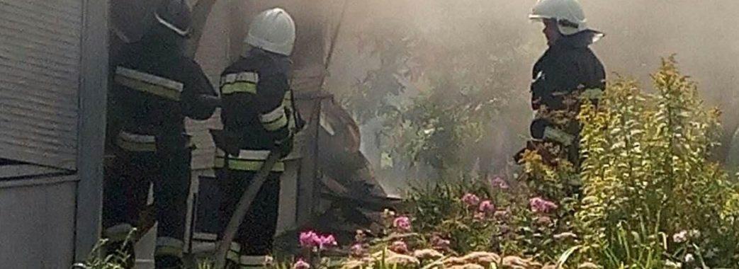 У Львові за мить згоріло чотири магазини