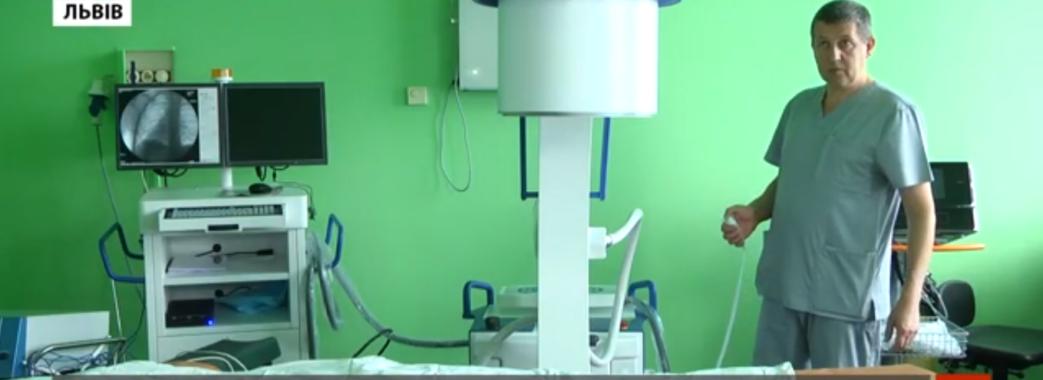За кошти благодійного фонду у Чорнобильську лікарню придбали дороговартісне обладнання