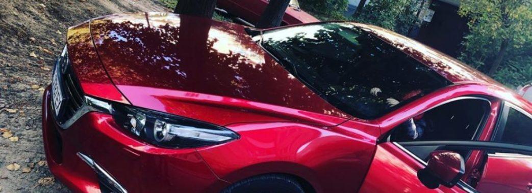 У Львові знайшли викрадене авто відомої борчині
