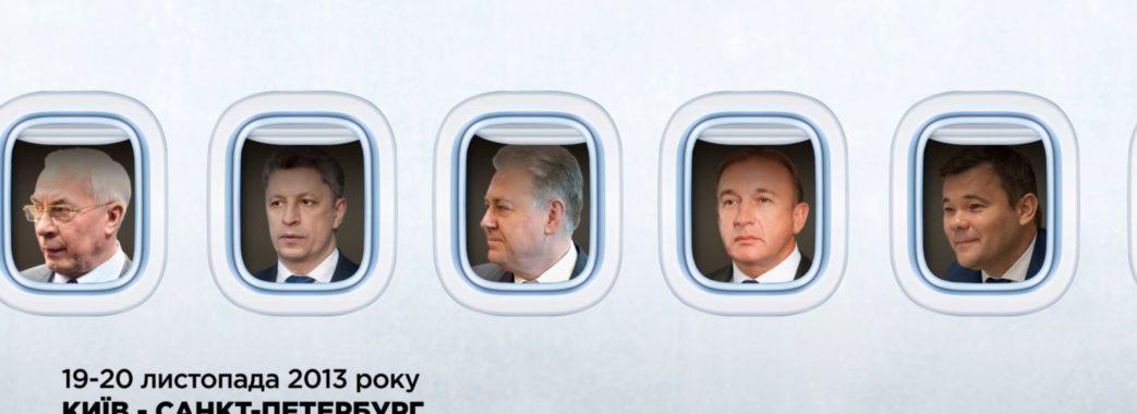 Богдан літав з Азаровим до РФ напередодні зупинки євроінтеграції України в 2013 році – «Схеми» (ВІДЕО)