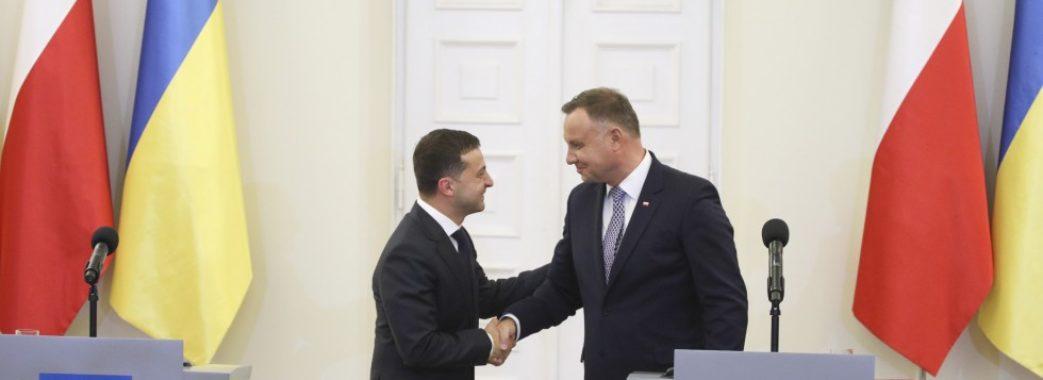 «Не відлига у відносинах, а прорив»: Зеленський про візит до Польщі