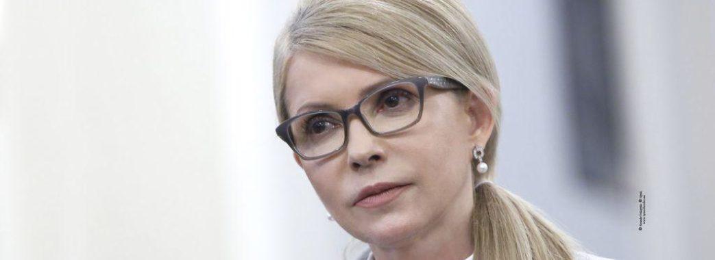 Тимошенко вимагає від Зеленського референдуму щодо продажу землі