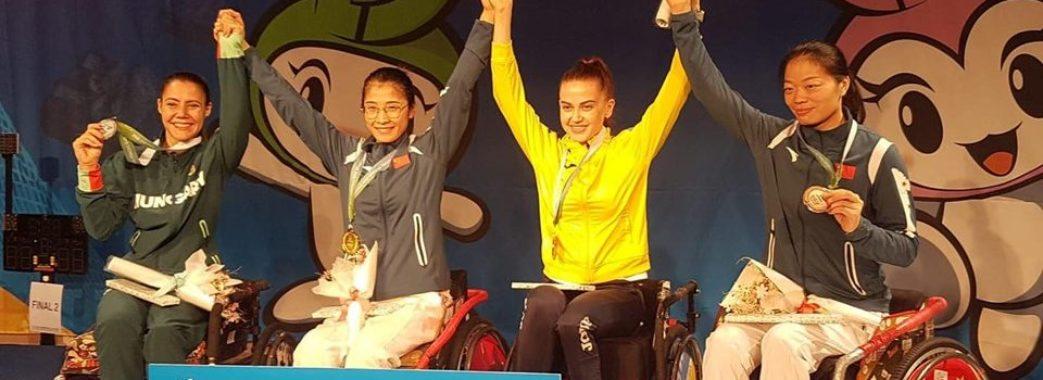Львів`янка Наталія Морквич здобула бронзу на Чемпіонаті світу з фехтування на візках