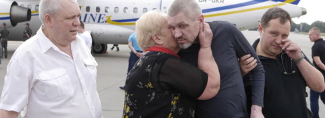 """У """"Феофанії"""" перебувають 8 звільнених українців"""