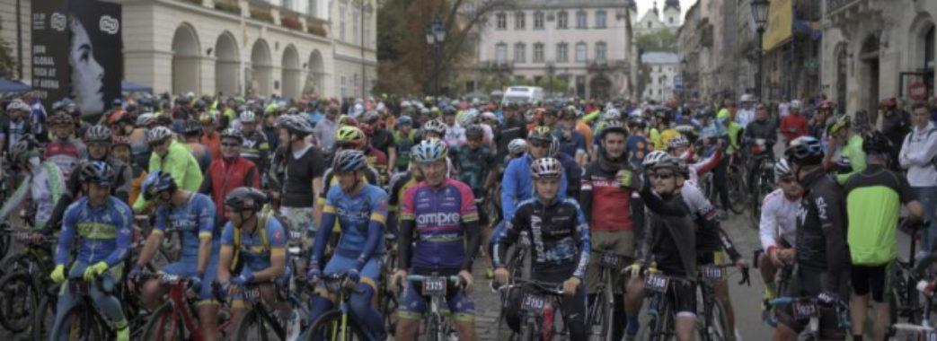 Тисяча велосипедистів проїхалася Львовом