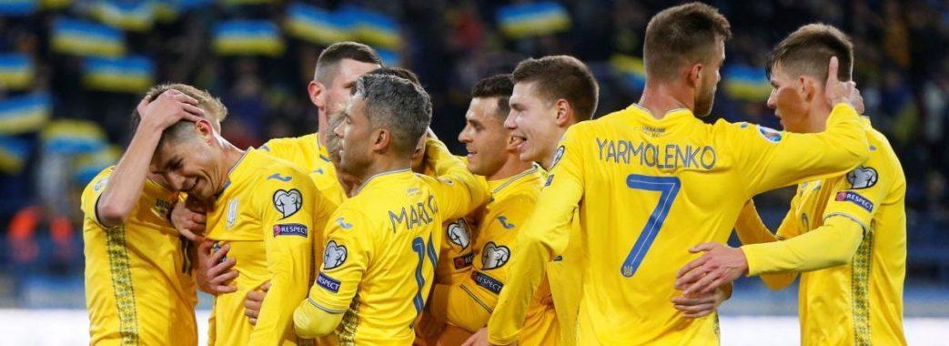 У відборі до Євро-2020 збірна України перемогла Литву