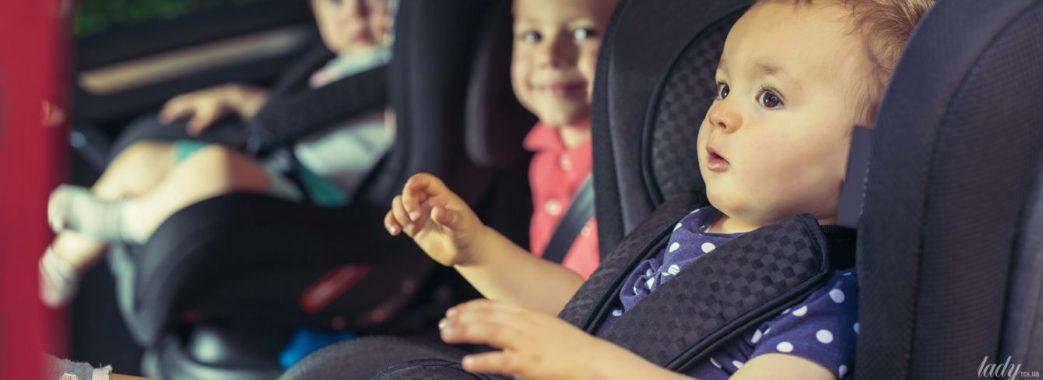 Водіїв каратимуть за перевезення дітей без автокрісел