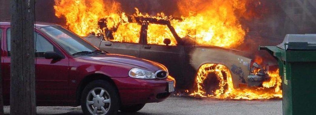 Директору Самбірського комунального підприємства спалили авто