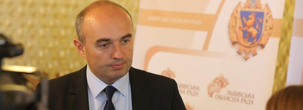 Володимир Гірняк поскаржився в поліцію на службовців Львівської облради