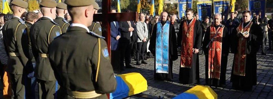 «Це один з унікальних випадків»: на Личаківському кладовищі перепоховали останки відомих воїнів УПА