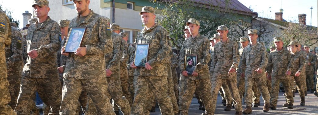 В Яворові зустріли воїнів 24 окремої механізованої бригади імені Короля Данила