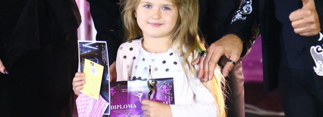 5-річна самбірчанка Соломія Пішко перемогла у міжнародному конкурсі
