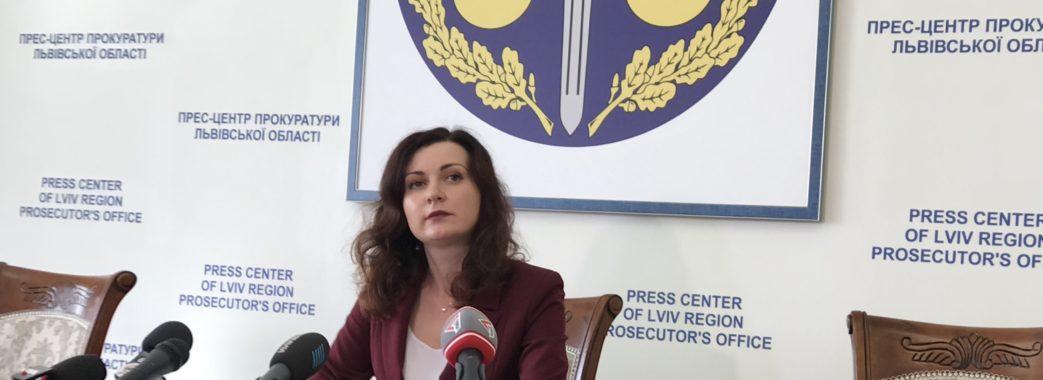 «Для мене кожна справа є пріоритетною»,  – головна прокурорка Львівщини