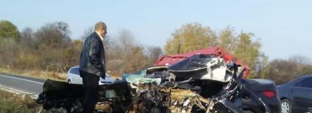У страшній аварії на Золочівщині загинув 24-річний львів'янин