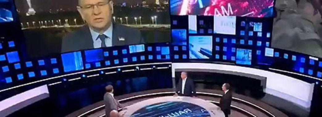 """""""Слуга народу"""" на російському ТБ розповів про радикальних націоналістів в Україні"""