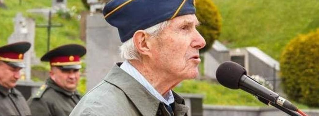 «У 95 його просто було не зупинити»: завтра на Яворівщині поховають легендарного ветерана дивізії «Галичина»