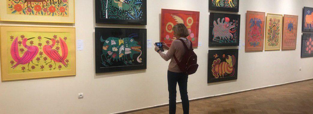 В останній день виставку Марії Примаченко відвідали близько 700 людей