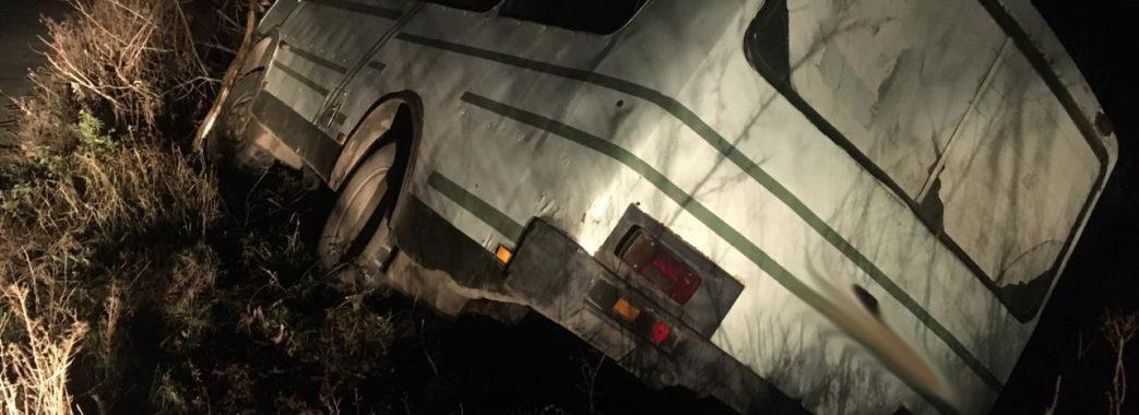 На Стрийщині рейсовий автобус потрапив у ДТП