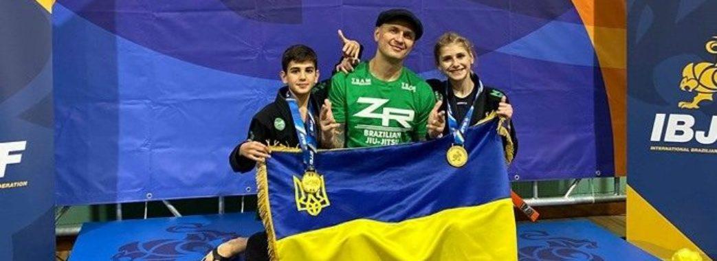 12-річні львів'яни стали чемпіонами Європи з джиу-джитсу