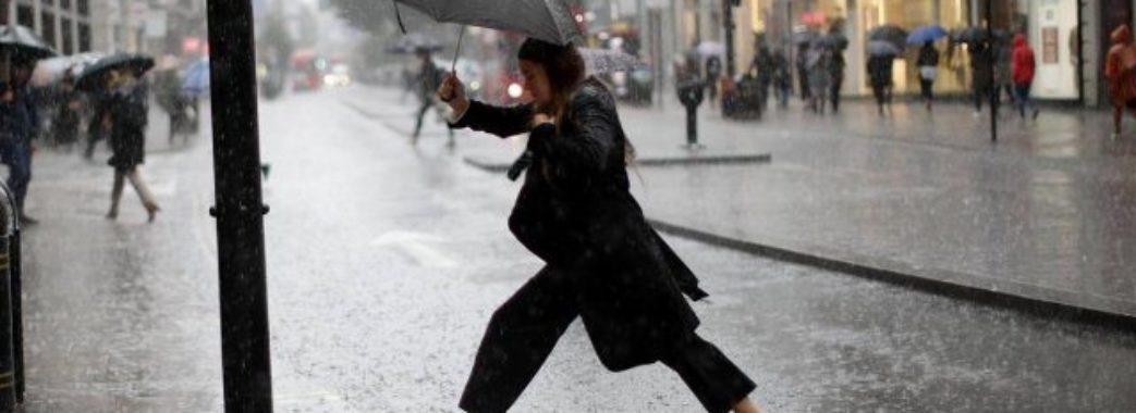 На Львівщині прогнозують дощі
