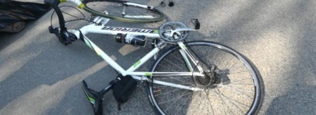 Водійка з Дрогобиччини наїхала на велосипедиста з Городоцького району
