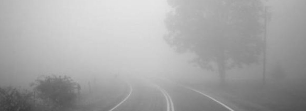 Водіїв попереджають про густий туман