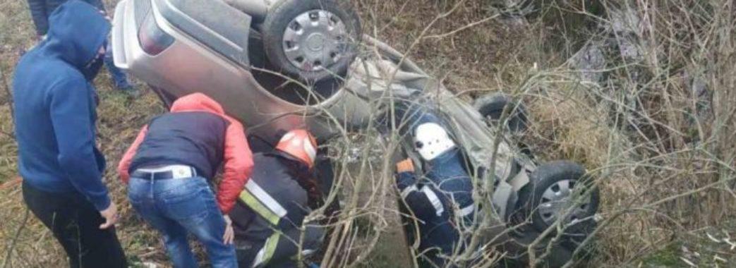 На Стрийщині через густий туман автівка опинилася у річці: є потерпілі