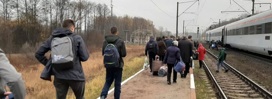 В «Інтерсіті» Львів-Київ шукають вибухівку