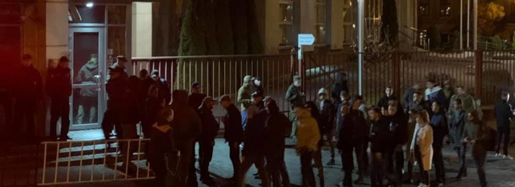 У Львові відбувається акція на підтримку затриманого у Польщі учасника АТО