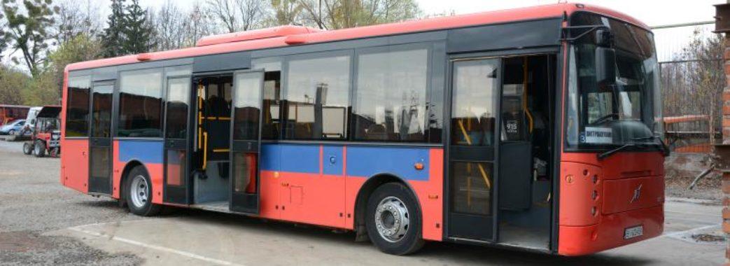 У Львові курсуватимуть норвезькі 12-метрові автобуси